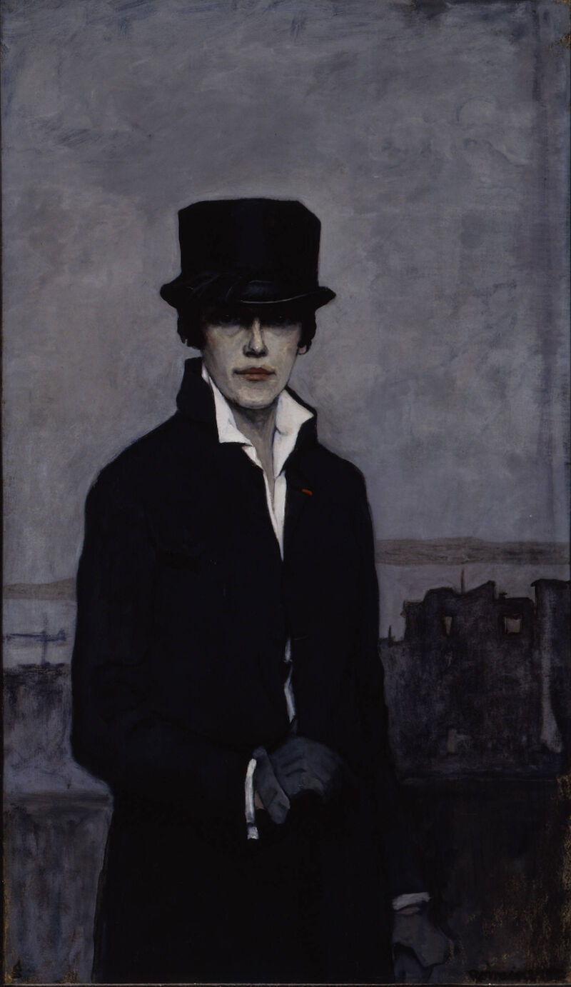 Self-Portrait, 1923, 1923, Romaine Brooks