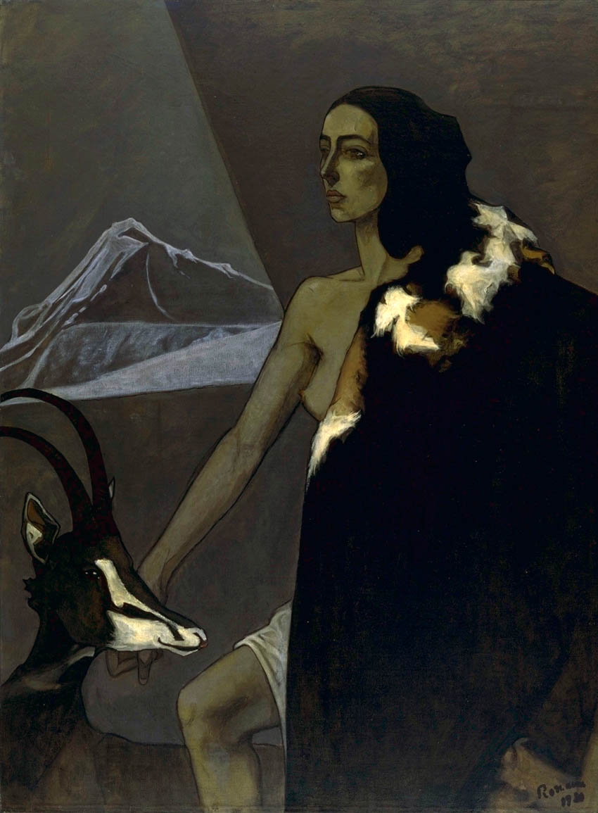 Chasseress, 1920 — Romaine Brooks,