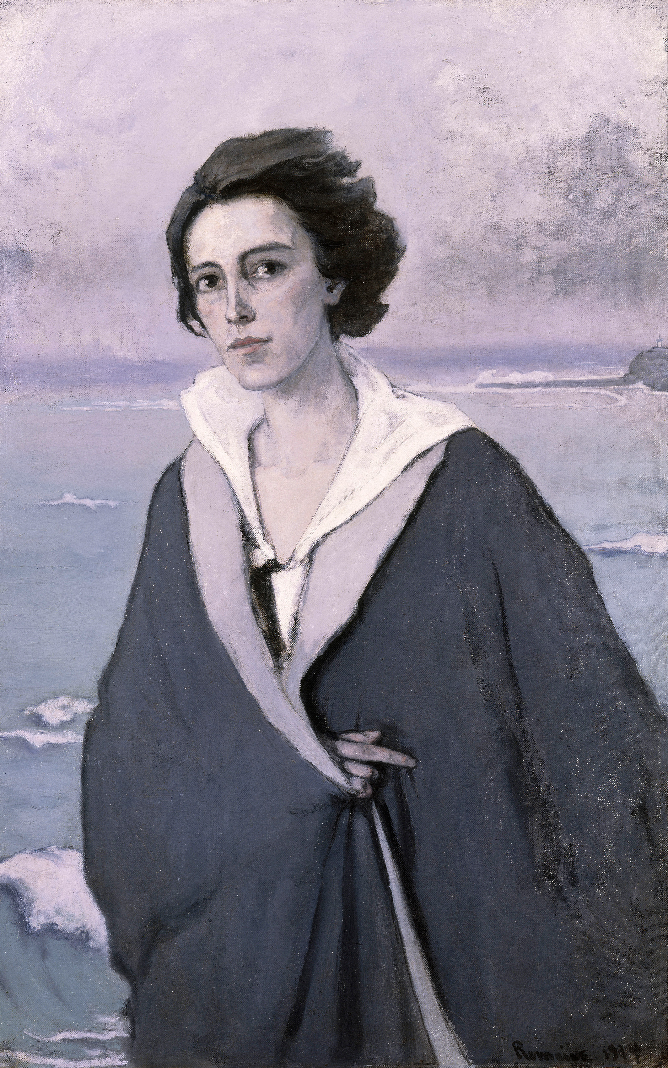 At The Seaside — Self-portrait, 1914 — Romaine Brooks