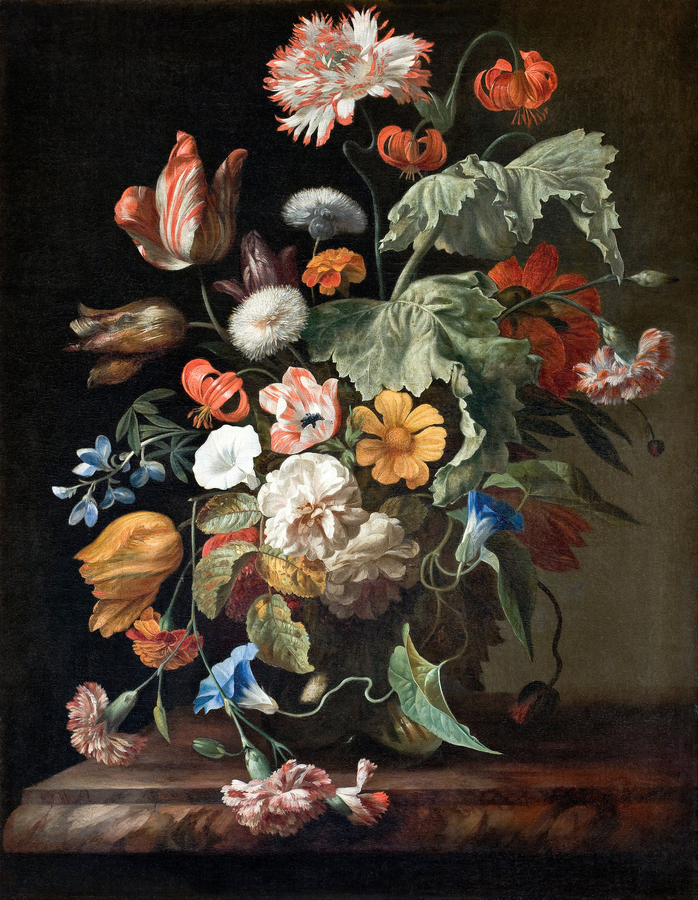 Still-Life With Flowers By Rachel Ruysch  Trivium Art History-5396