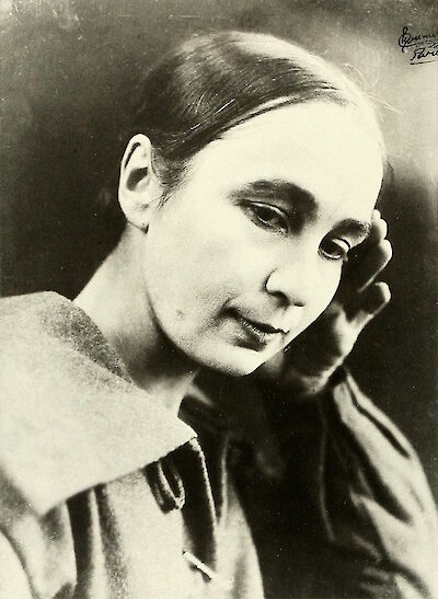 Portrait of Natalia Goncharova
