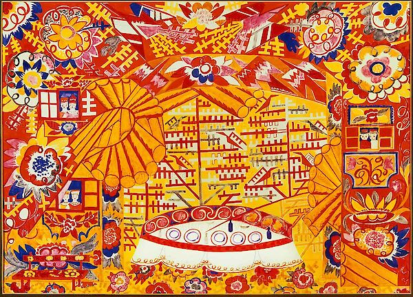 Set design for 'Le Coq d'Or'