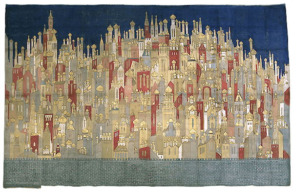 Coronation backdrop for 'The Firebird'