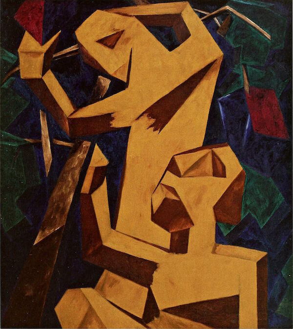 Peasants Gathering Grapes