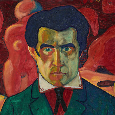 Portrait of Kazimir Malevich
