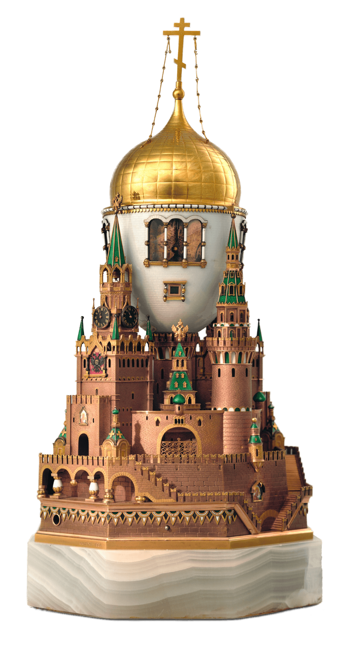 The Moscow Kremlin Egg Peter Carl Faberg 233 Trivium Art