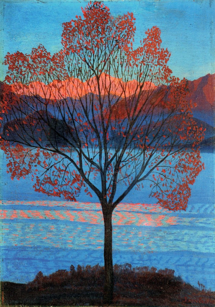 Landscape at the First Rays of Sun, 1940 — Luigi Russolo