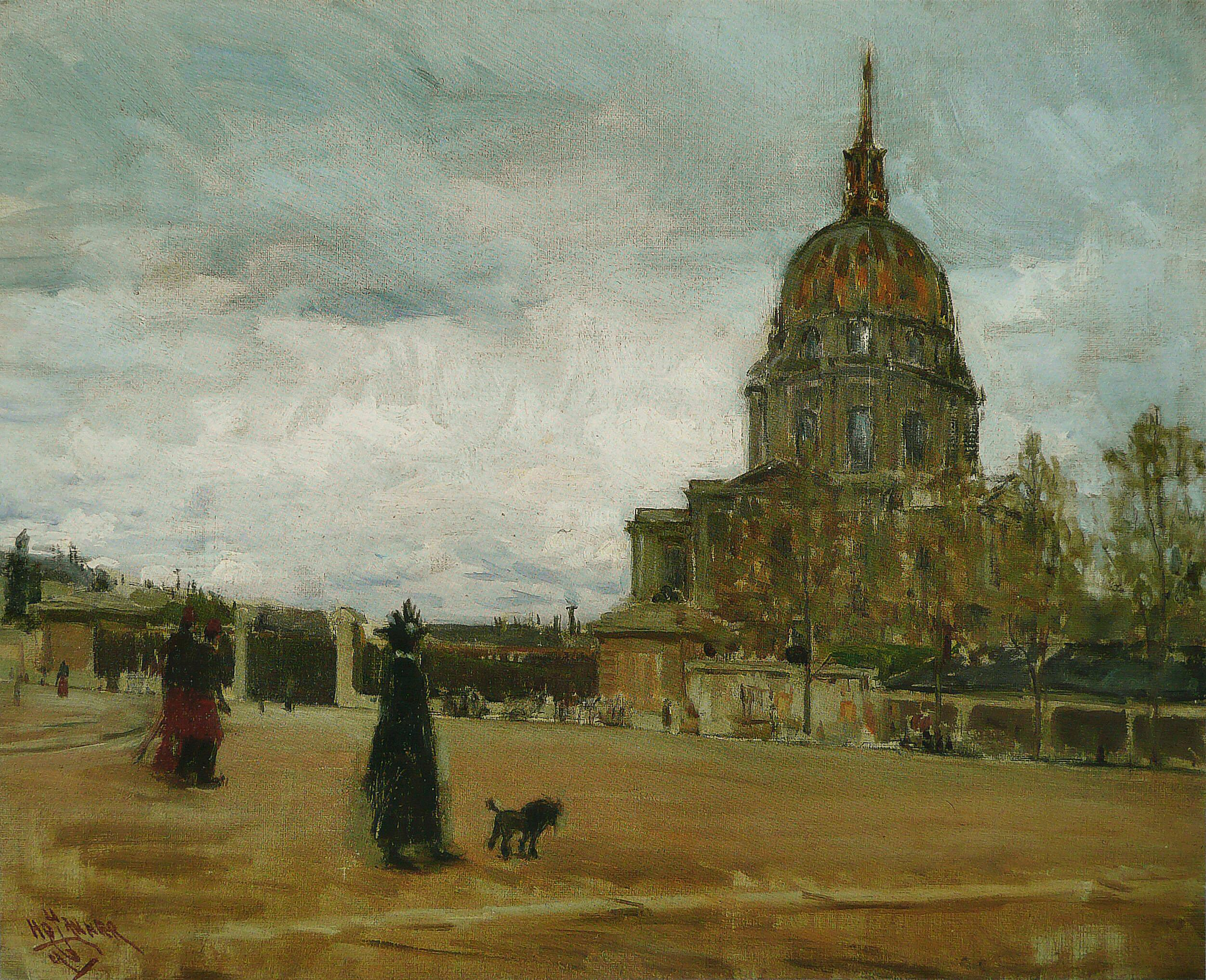 Les Invalides, Paris, 1896 — Henry Ossawa Tanner