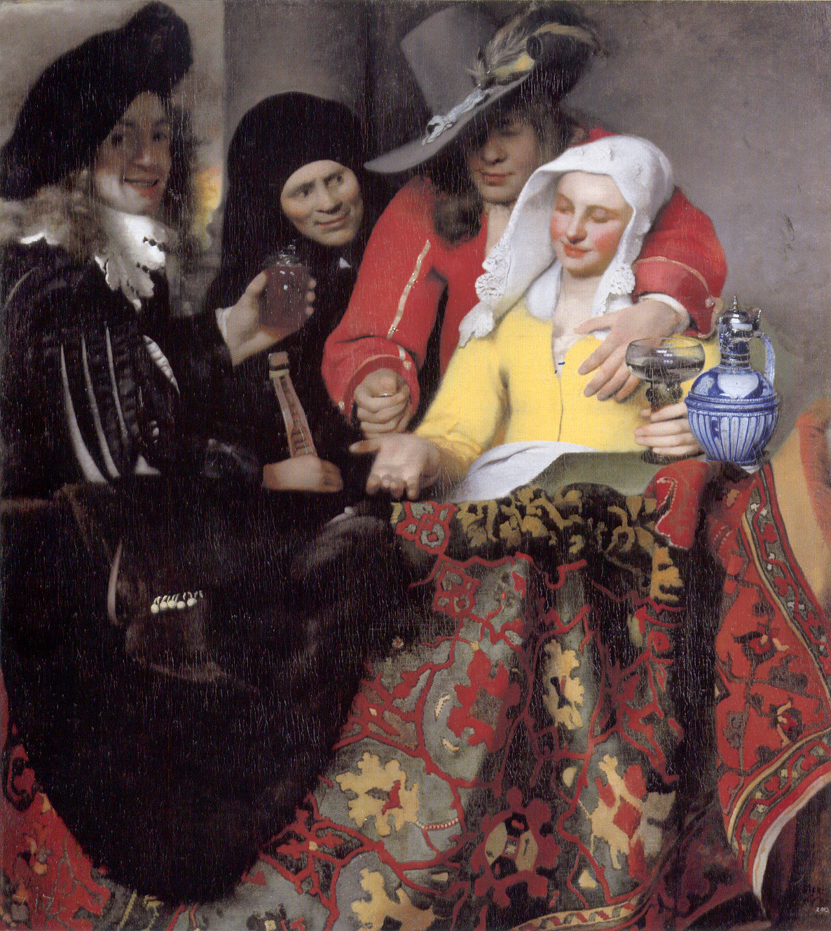 The Procuress, 1656 — Johannes Vermeer, Gemäldegalerie, Berlin