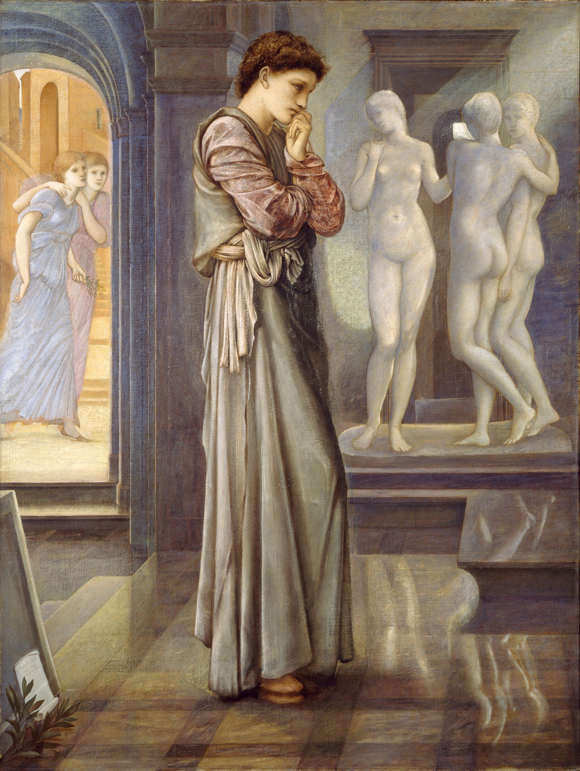 Pygmalion and the Image — The Heart Desires, 1878 — Edward Burne-Jones