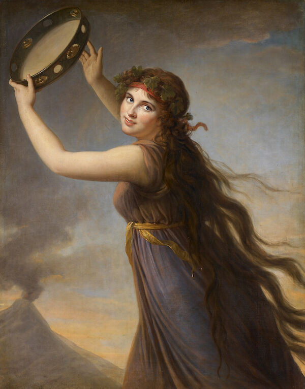 Portrait of Emma, Lady Hamilton as a Bacchante