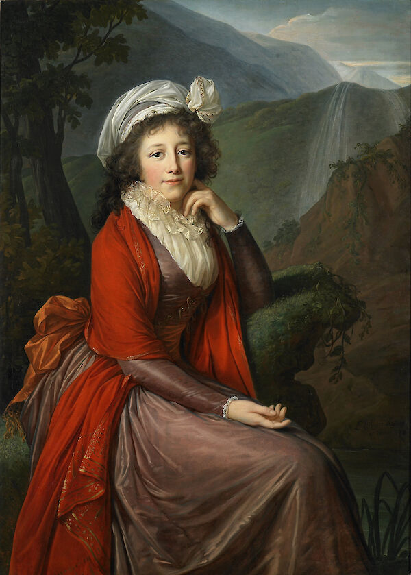 Portrait of Countess Maria Theresia Bucquoi, née Parr