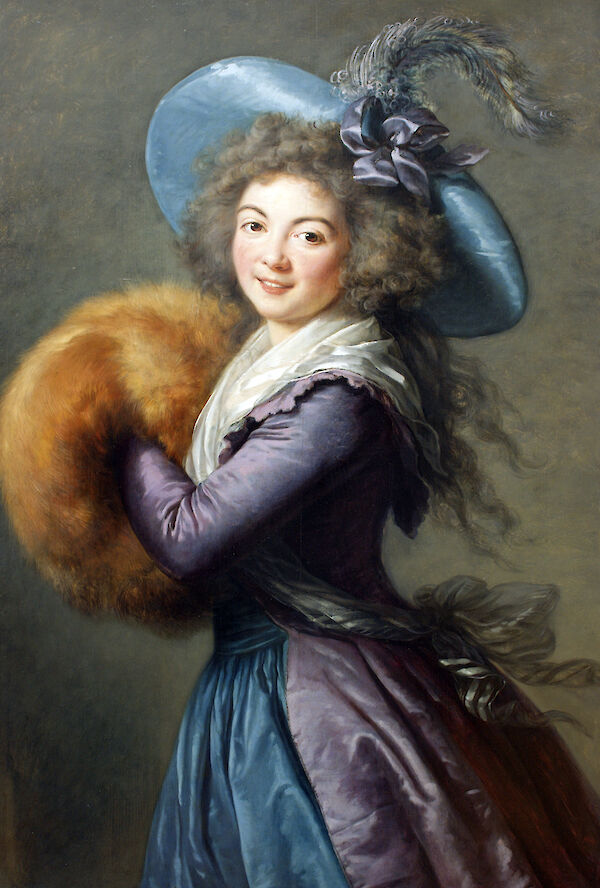 Portrait of Madame Molé-Reymond