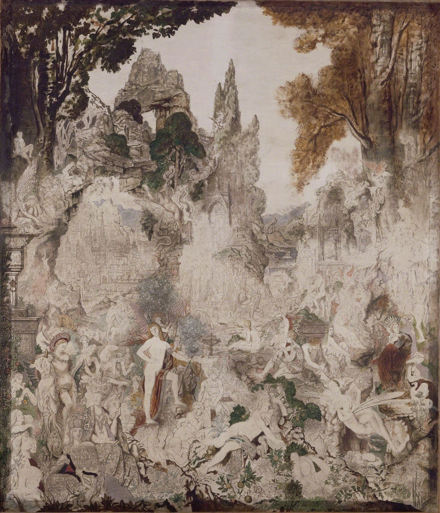 The Chimaeras, 1884 — Gustave Moreau,