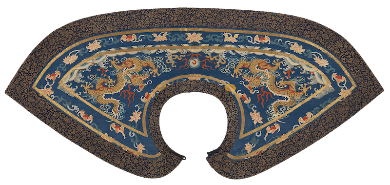 Formal Collar, 1800, Qing Dynasty