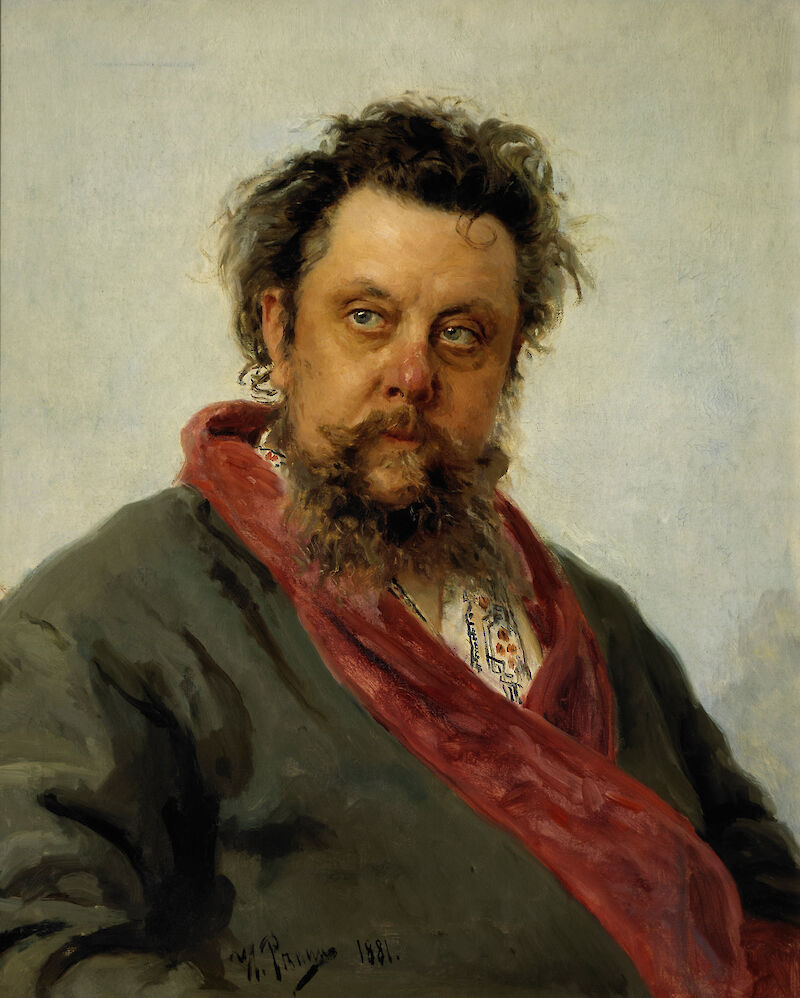 Portrait of Modest Musorgsky