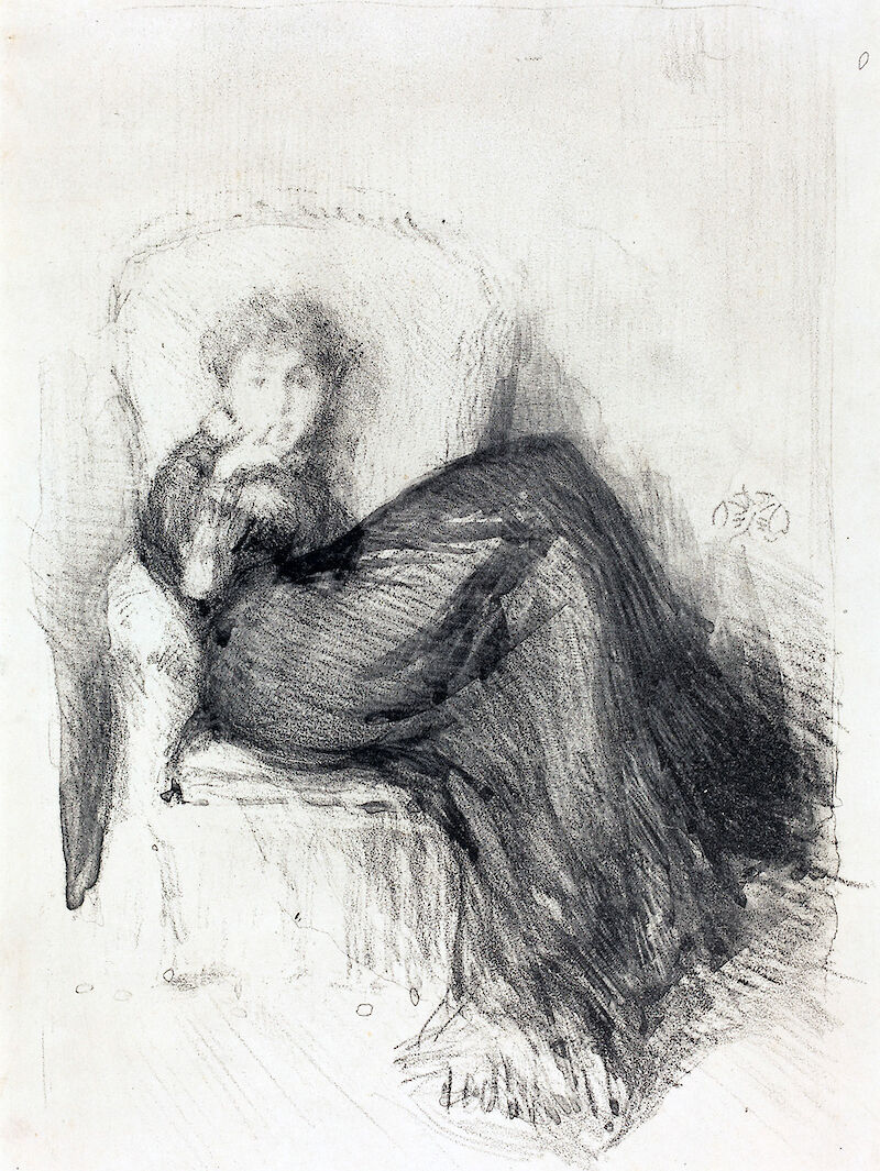 Maud Seated, 1878, James McNeill Whistler