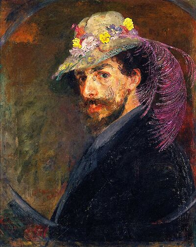 Portrait of James Ensor