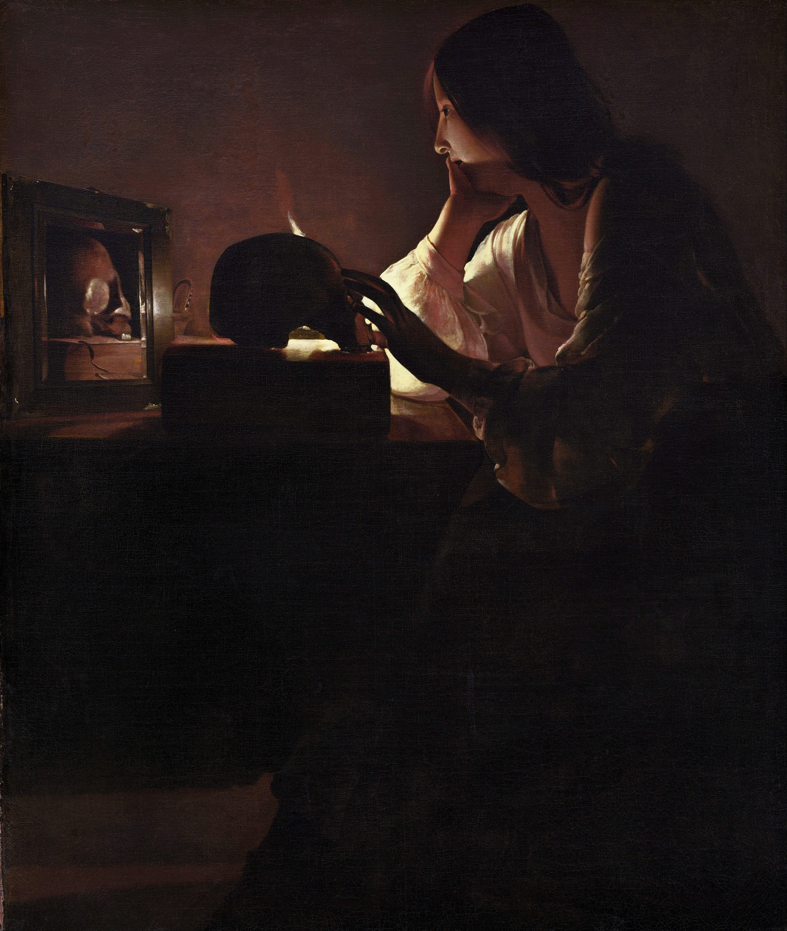 The Repentant Magdalene, 1640 — Georges de La Tour,