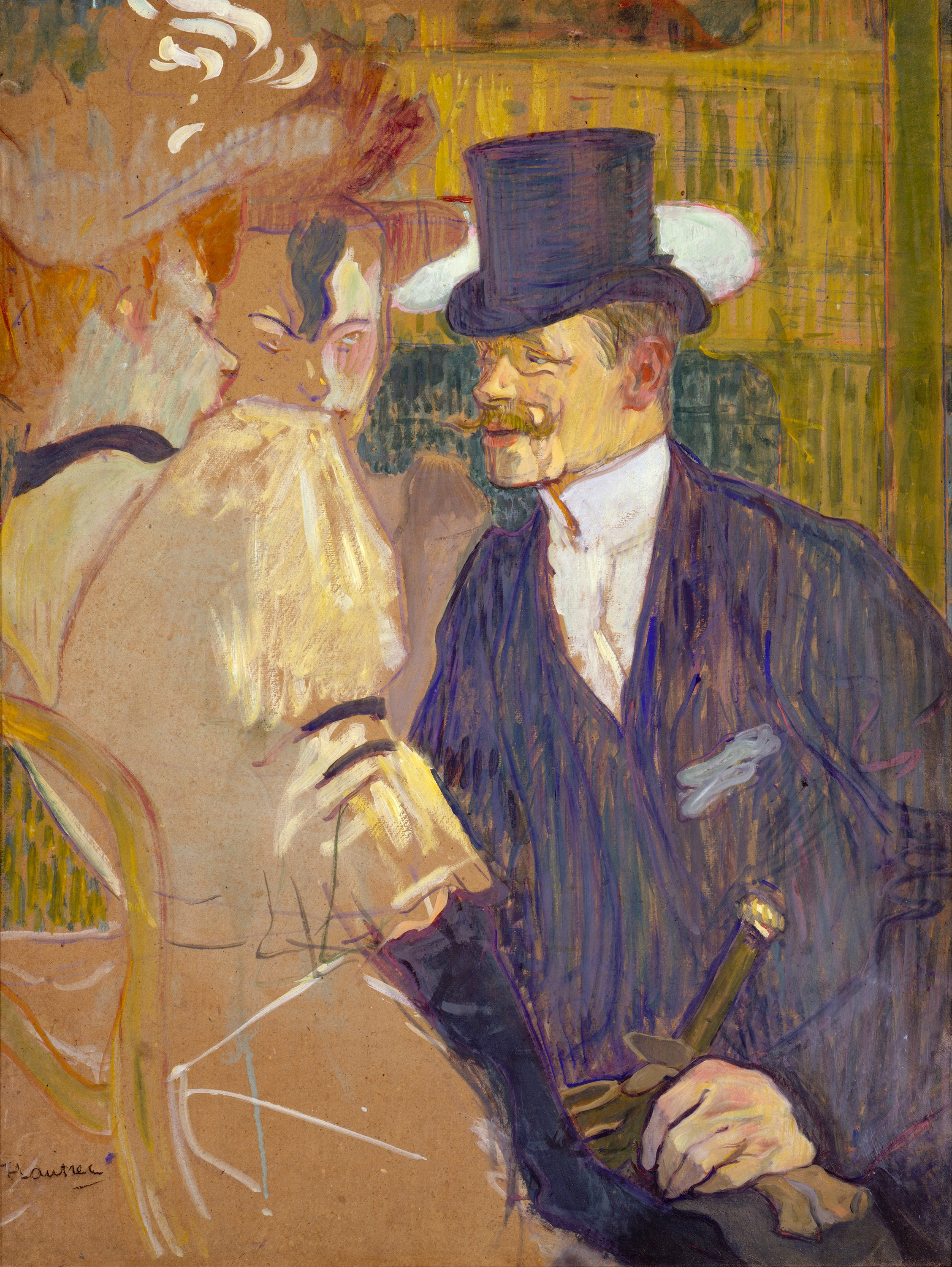 The Englishman at the Moulin Rouge, 1892 — Henri de Toulouse-Lautrec, Metropolitan Museum of Art