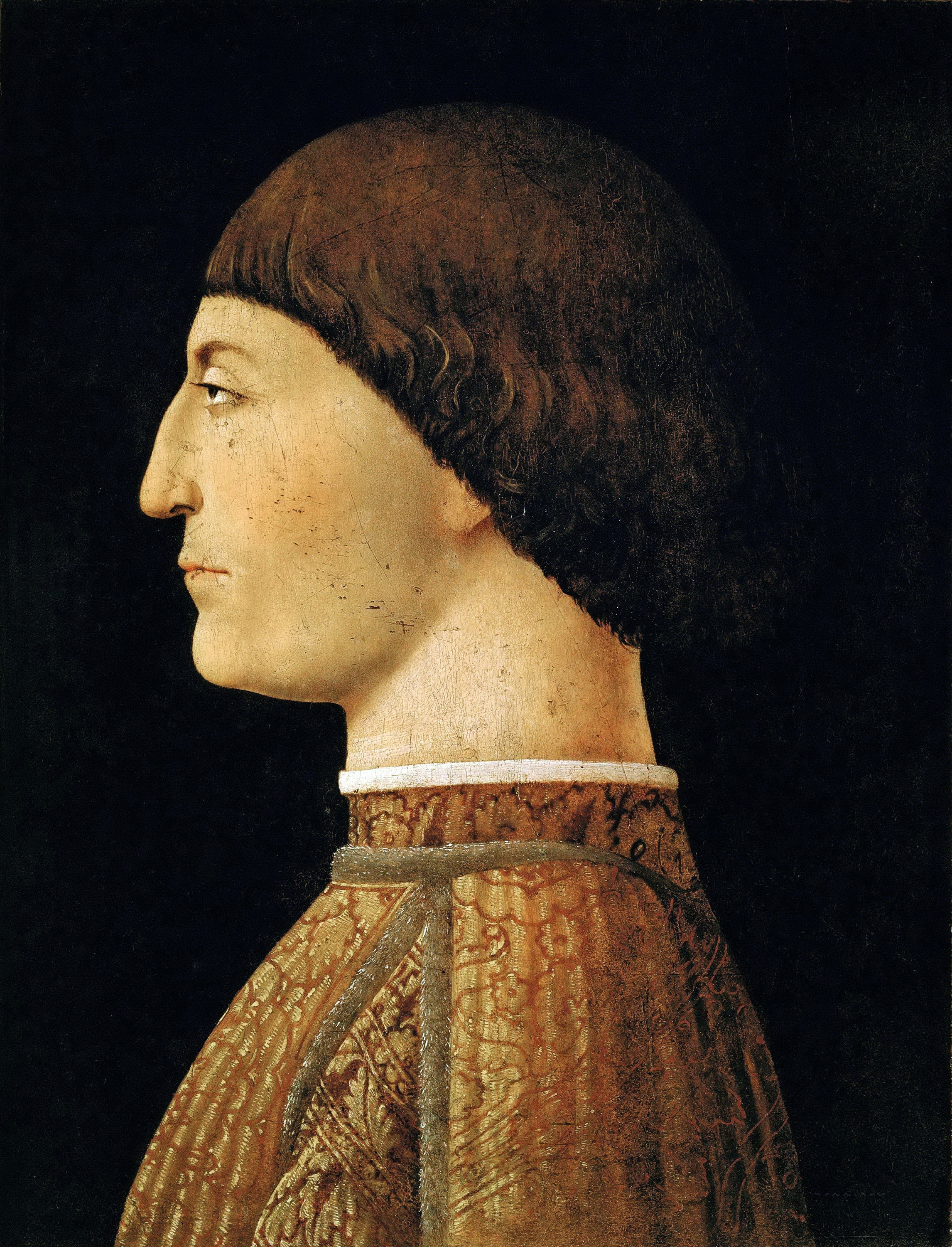 Portrait of Sigismondo Pandolfo Malatesta, 1451 — Piero della Francesca,