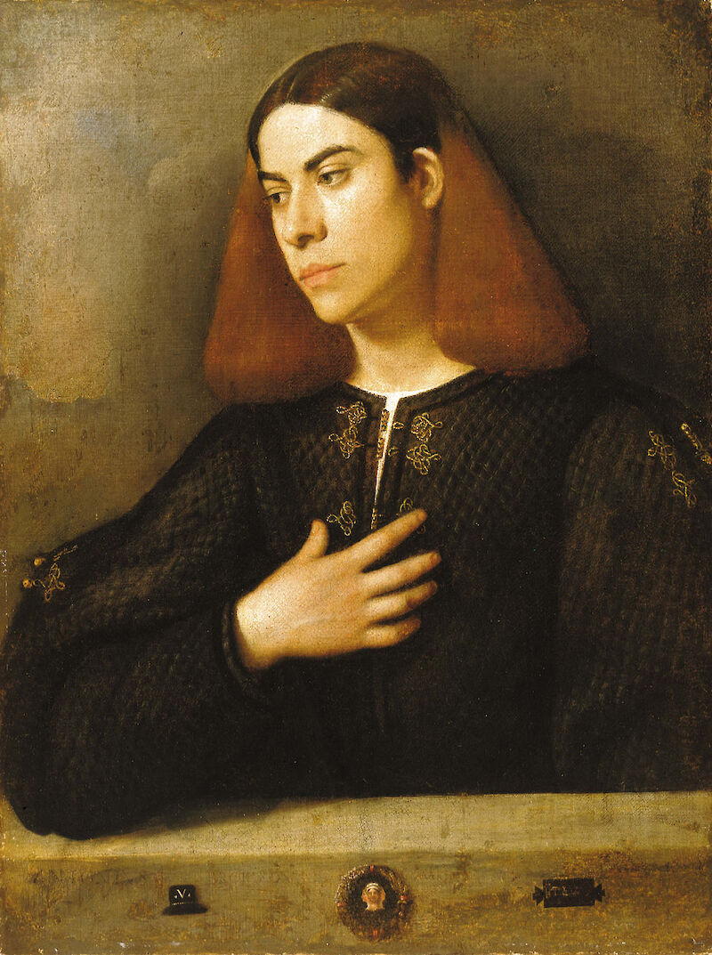 Portrait of a Young Man, 1510, Giorgione