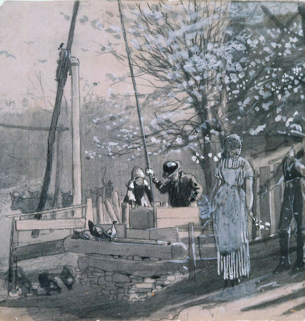 Spring (Women and Men at Well)