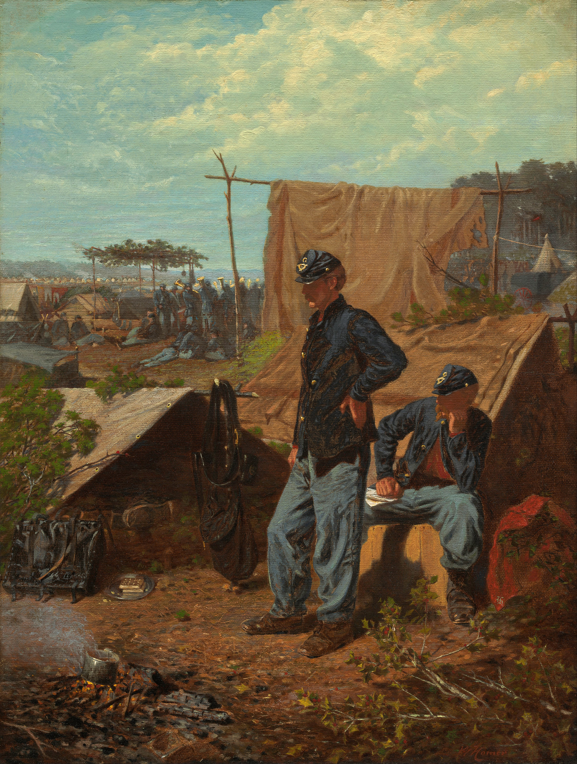 Home, Sweet Home, 1863 — Winslow Homer, National Gallery of Art