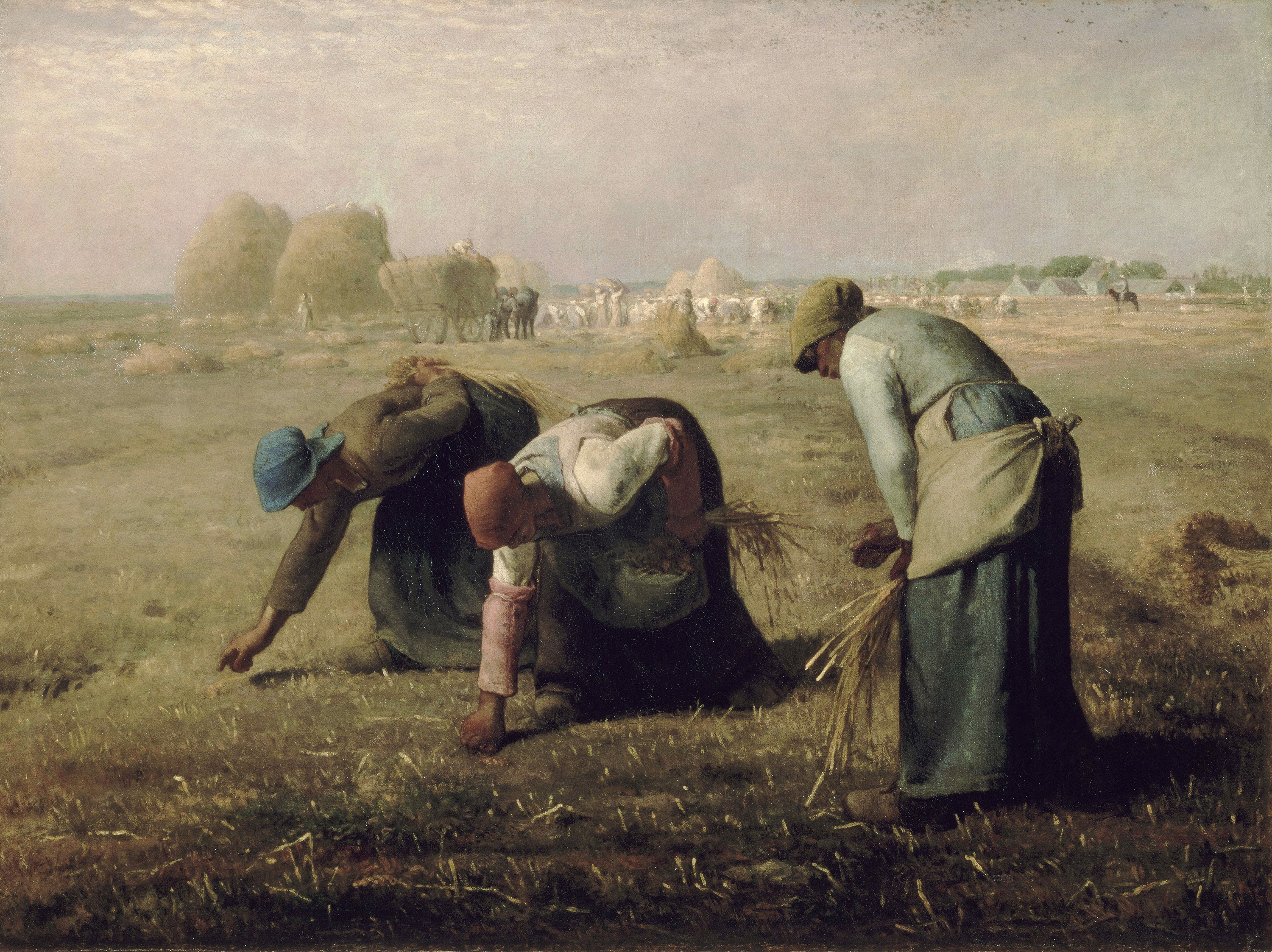 The Gleaners, 1857 — Jean-François Millet, Musee d'Orsay