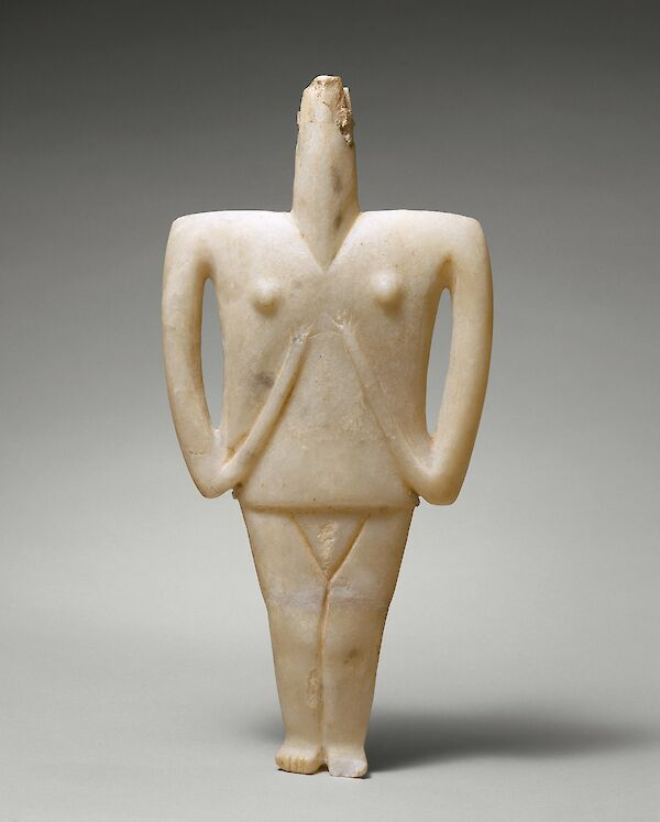 Cycladic female figure
