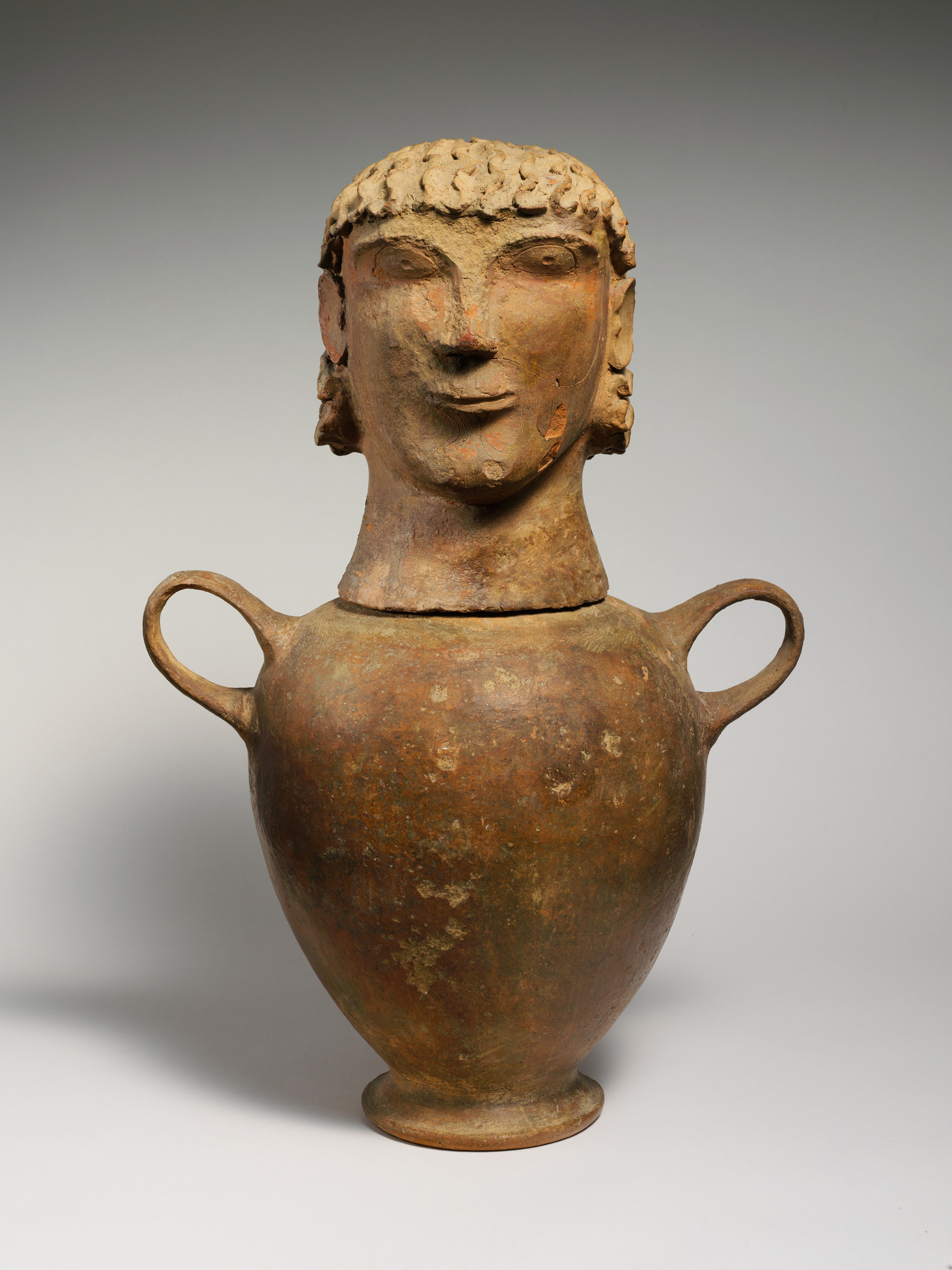 Canopic Urn, 600 BCE — The Etruscans,
