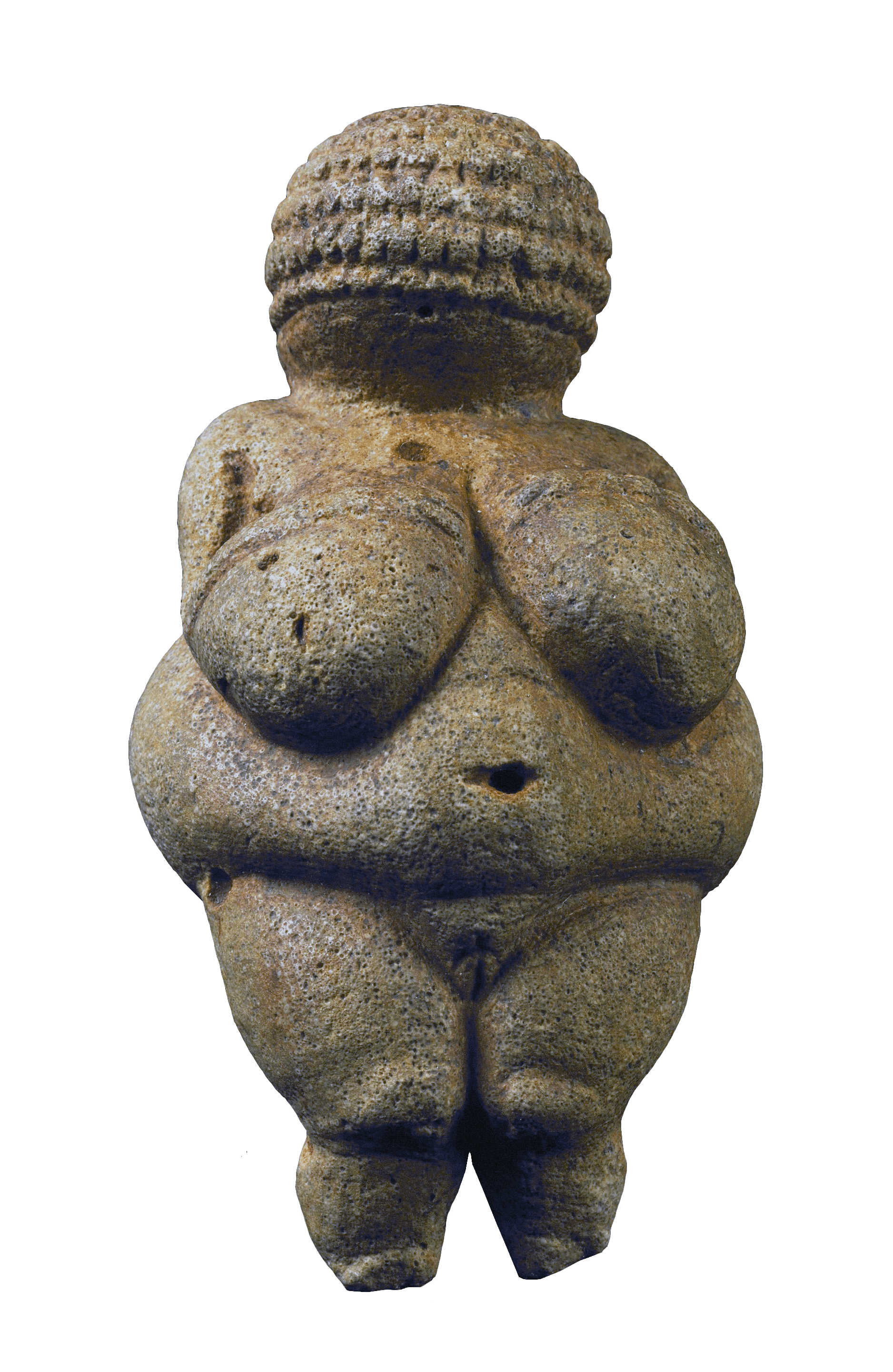 Venus of Willendorf, 25000 BCE — Prehistory, Vienna Museum of Natural History