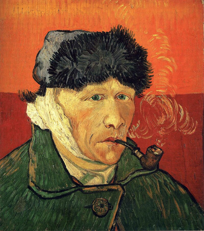 Self-Portrait With Bandaged Ear