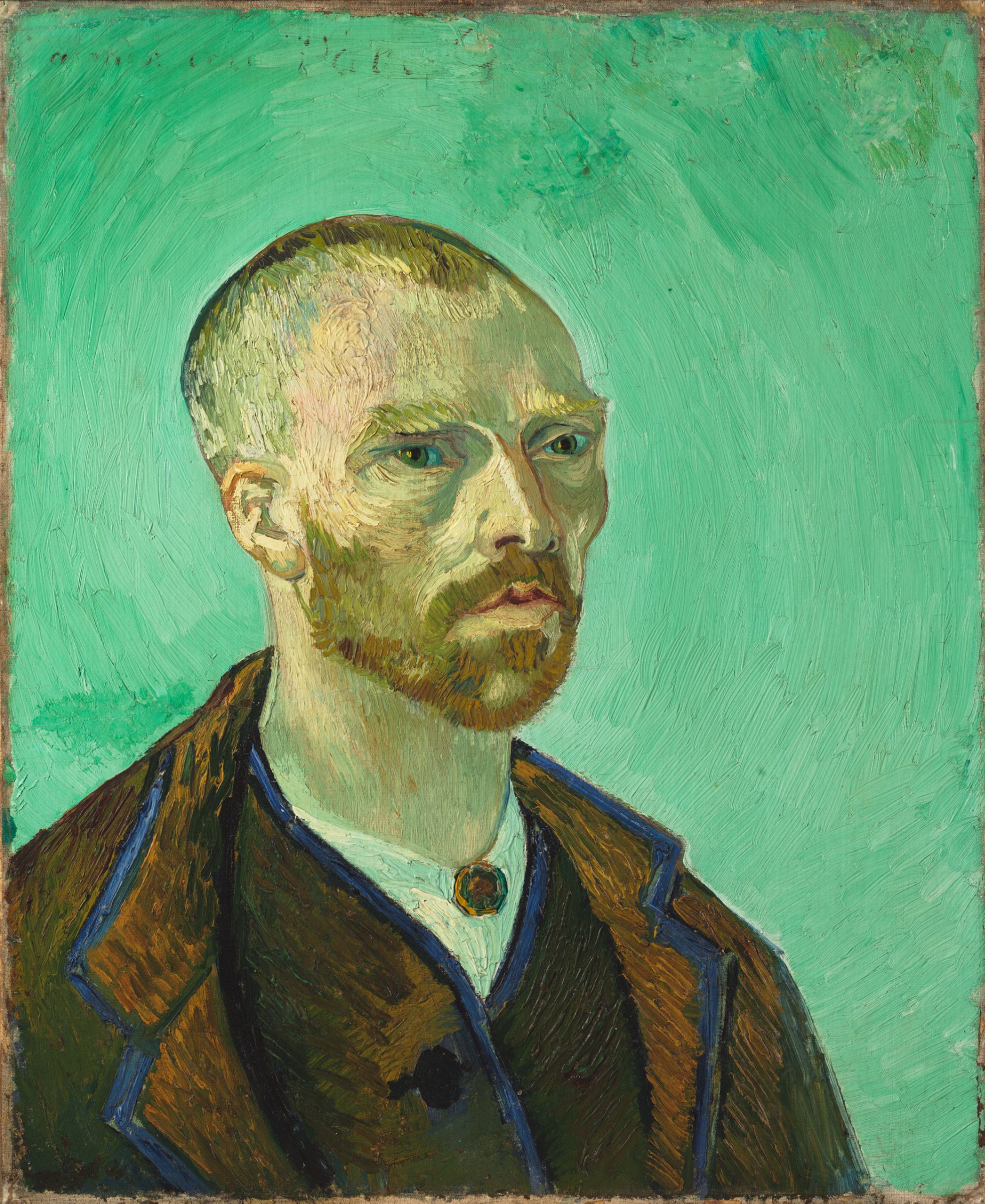 Self-Portrait Dedicated to Paul Gauguin, 1888 — Vincent Van Gogh