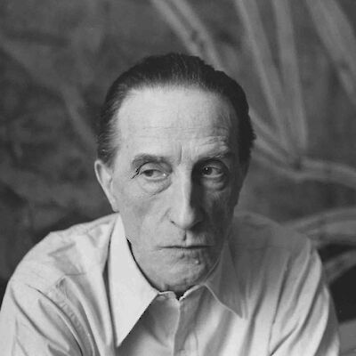 Portrait of Marcel Duchamp