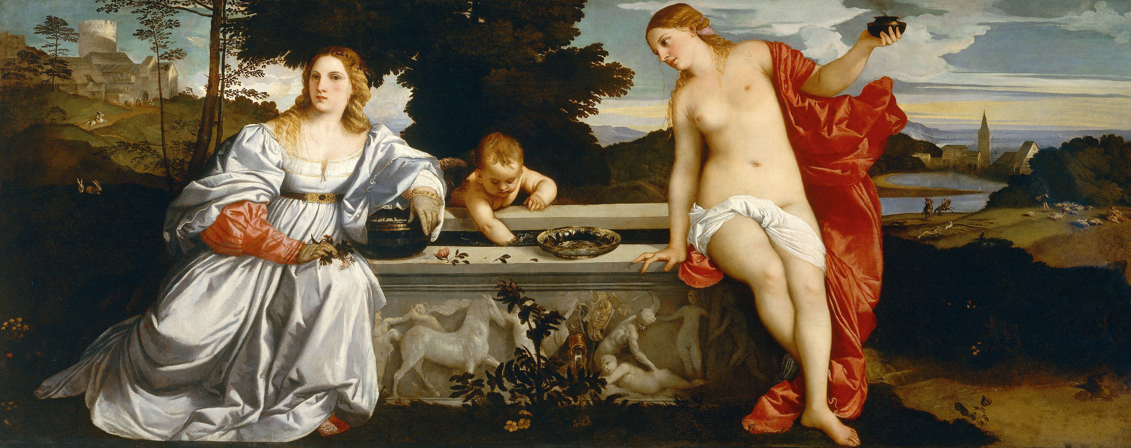 Sacred and Profane Love, 1514 — Titian