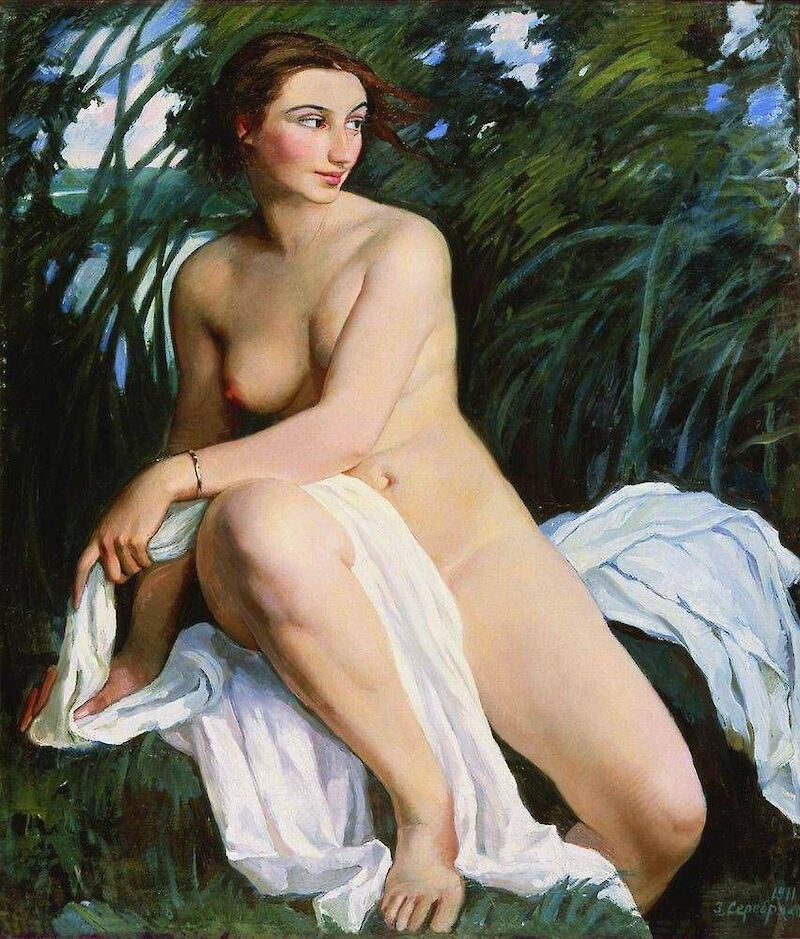 Bather, 1911, Zinaida Serebriakova