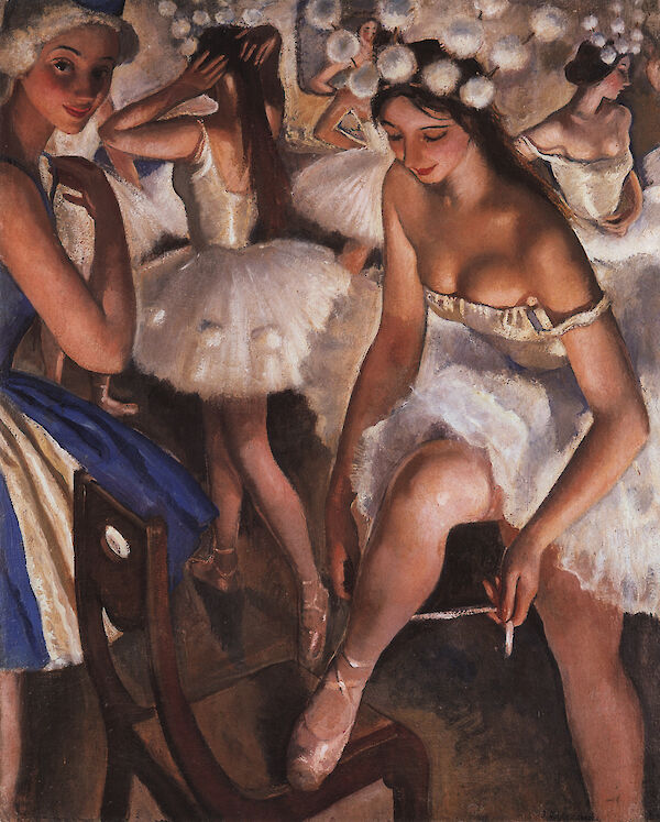 Ballerinas In The Dressing Room