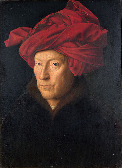 Portrait of Jan Van Eyck