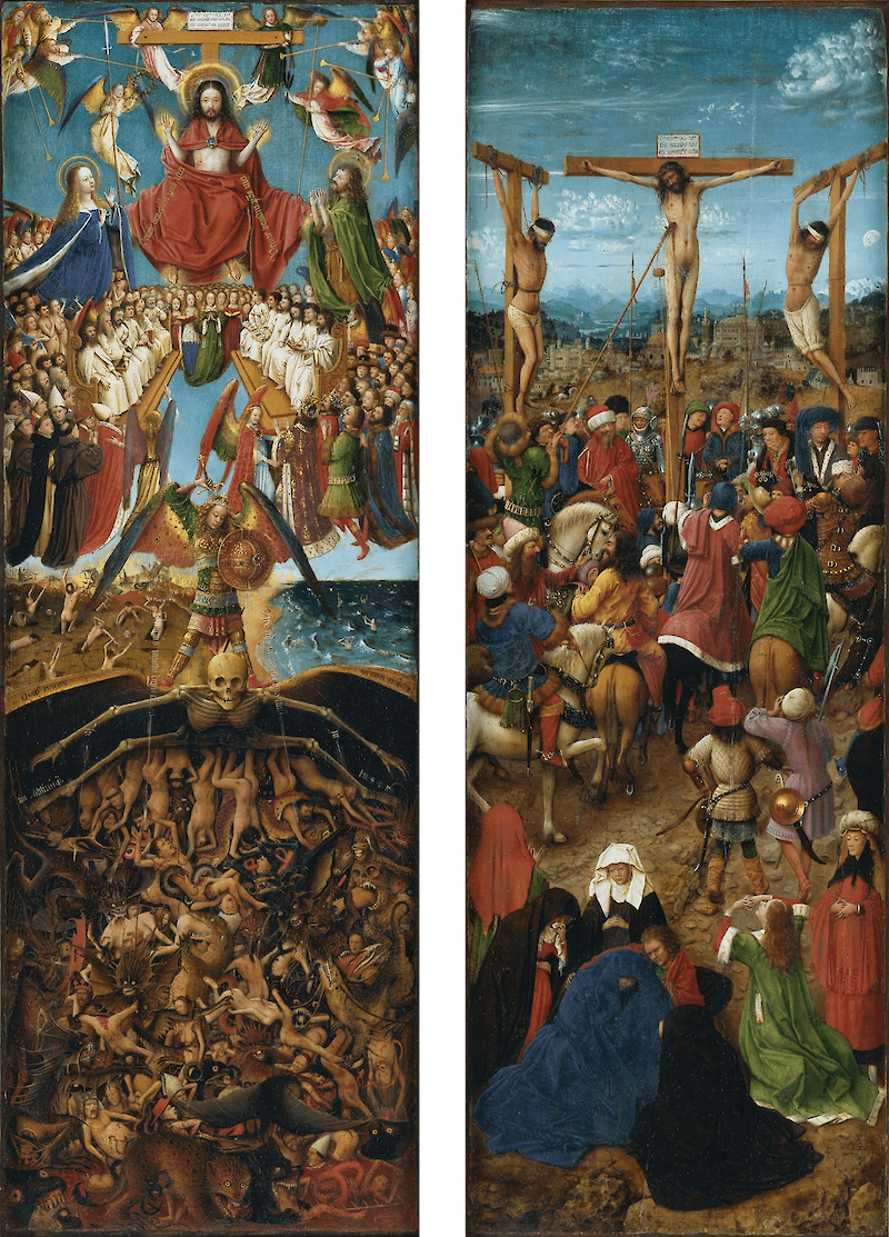 Crucifixion and Last Judgement