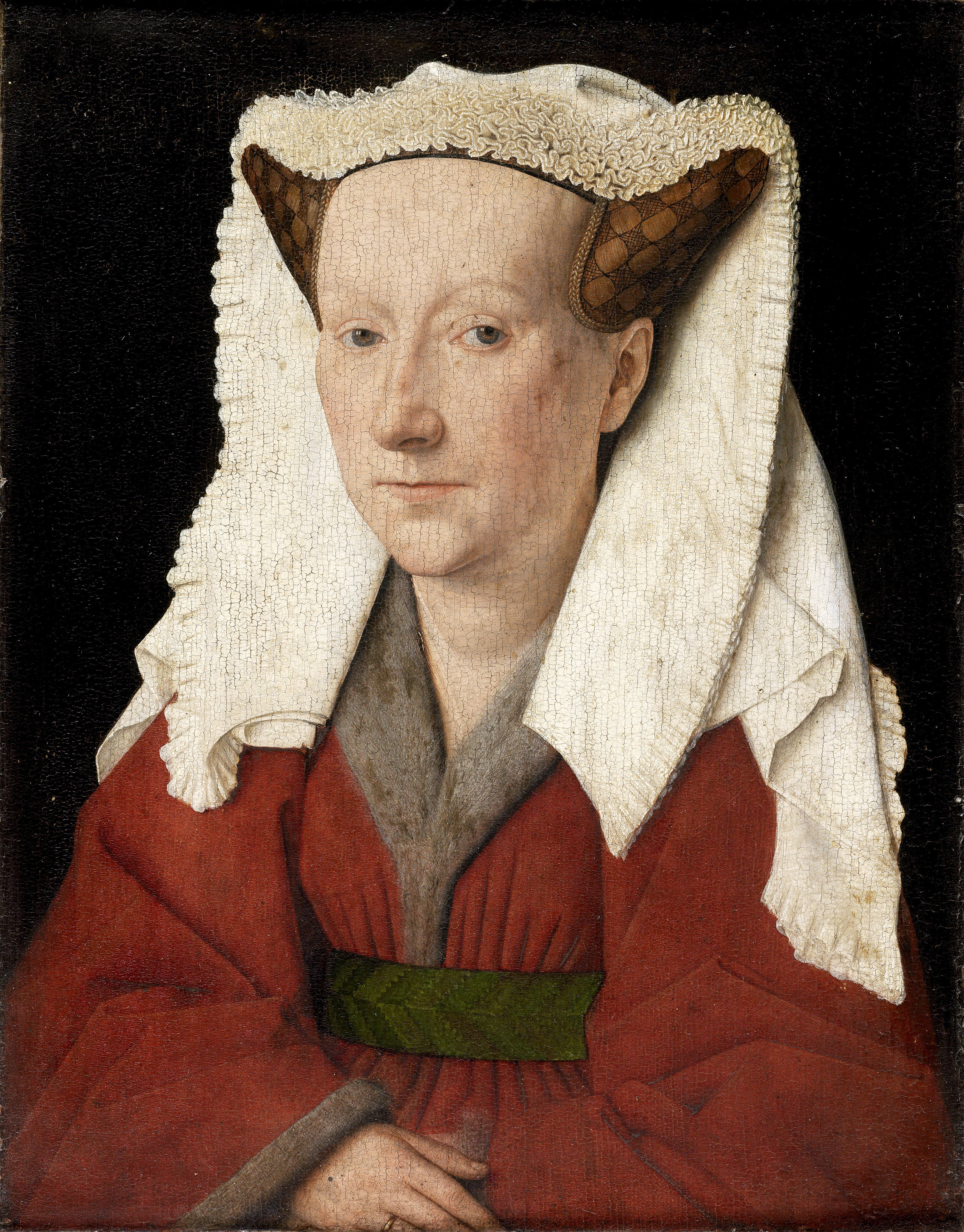 Portrait of Margareta van Eyck, 1439 — Jan Van Eyck, Groeningemuseum, Bruges