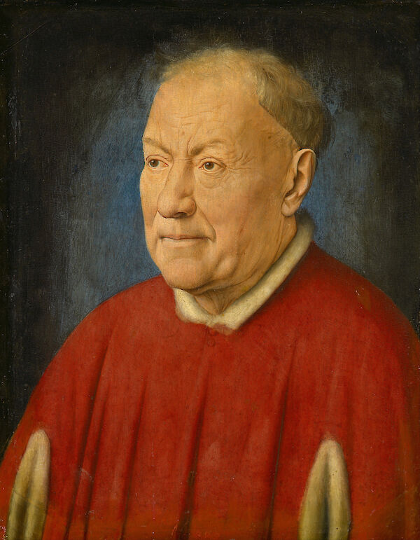 Portrait of Cardinal Niccolò Albergati