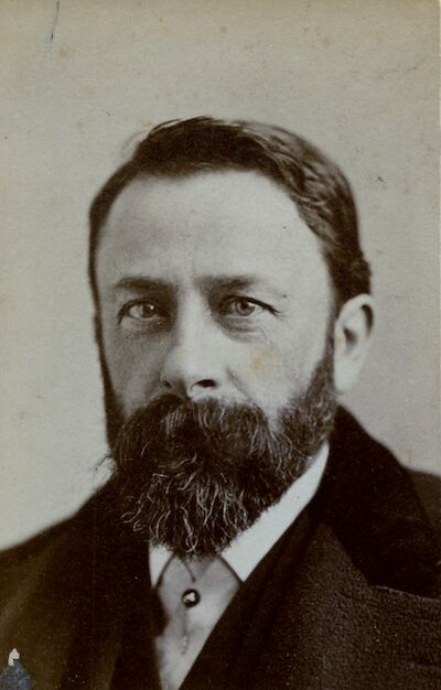 Portrait of Albert Bierstadt