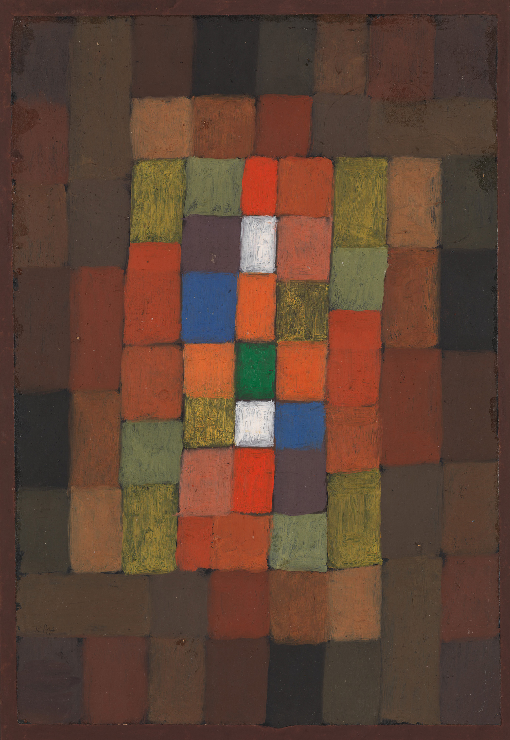 Static-Dynamic Gradation, 1923 — Paul Klee