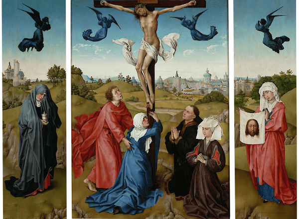 Triptych: The Crucifixion