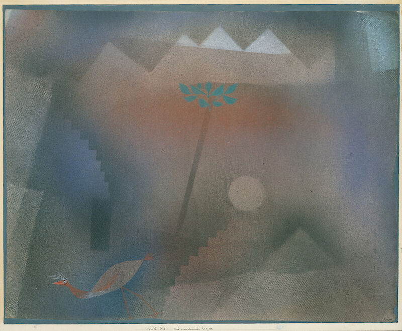 Bird Wandering Off, 1926, Paul Klee