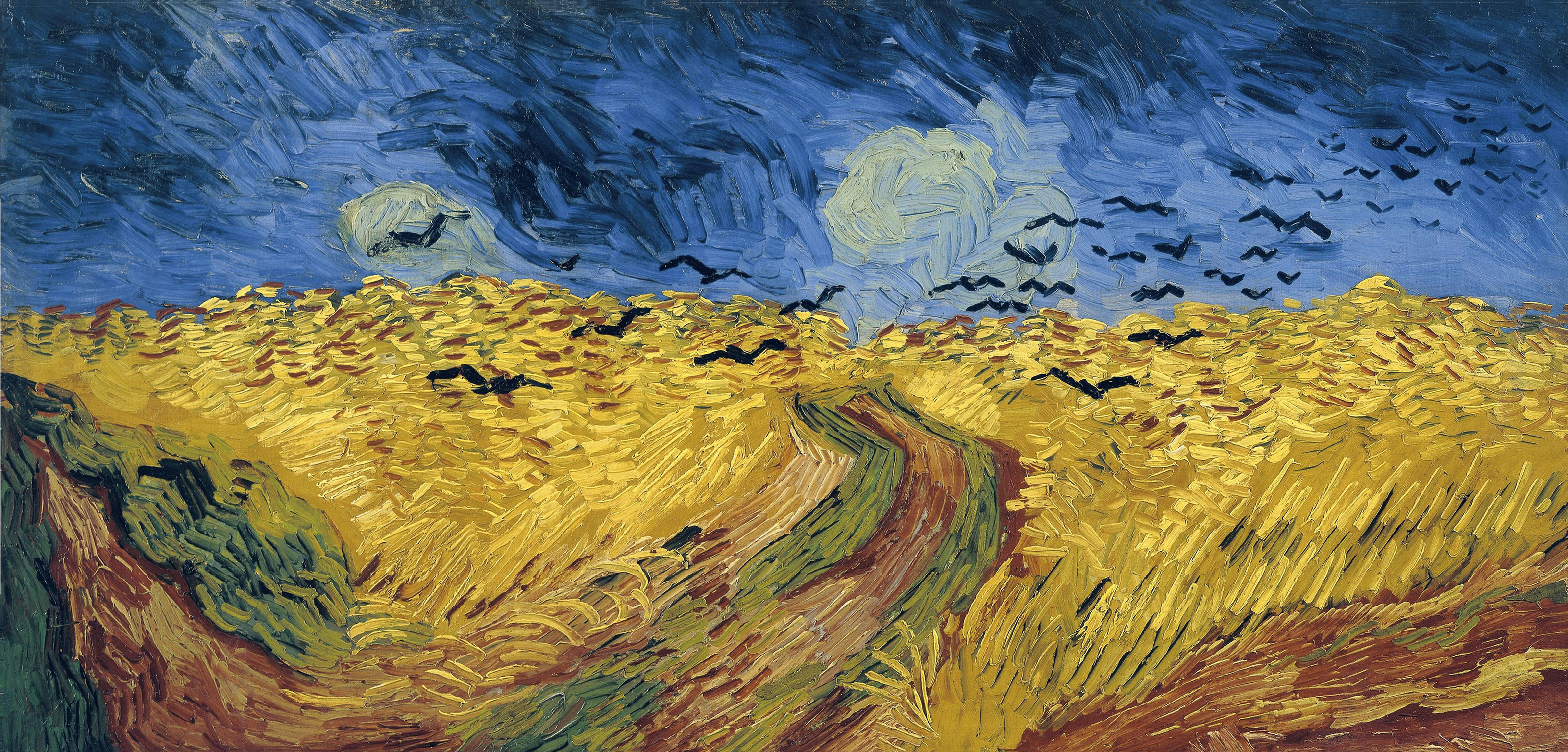 Wheatfield with Crows, 1890 — Vincent Van Gogh,