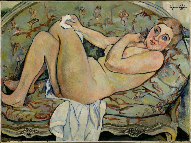 Reclining Nude, 1928, Suzanne Valadon