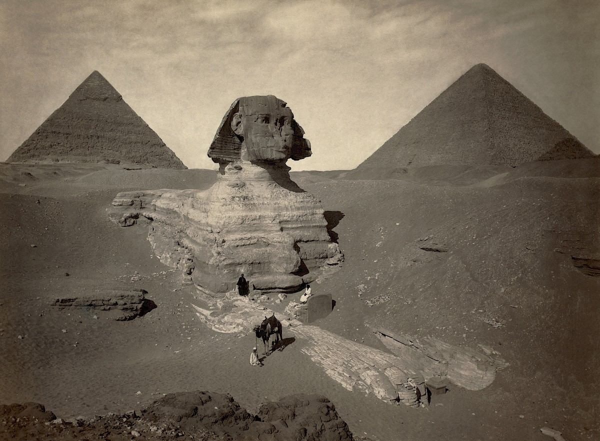 Great Sphinx of Giza, additional view
