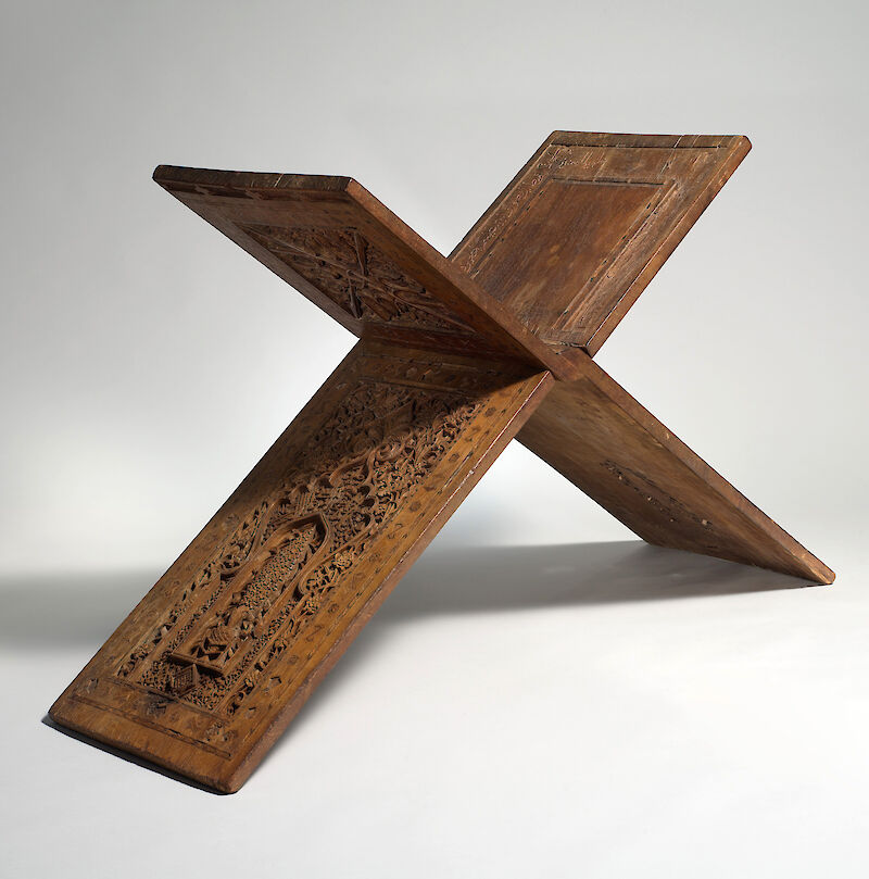 Stand for a Qur'an Manuscript